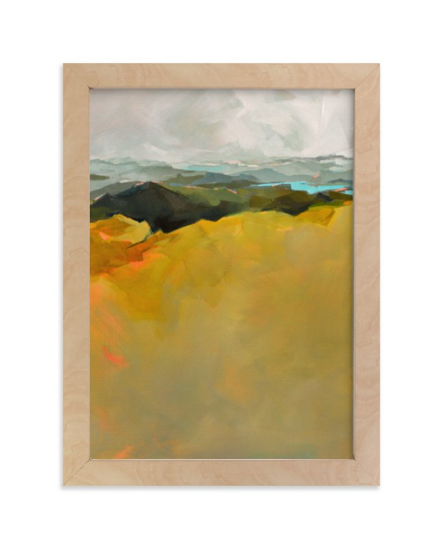 """""""The Bigger Picture"""" - Limited Edition Art Print by Jess Franks in beautiful frame options and a variety of sizes."""