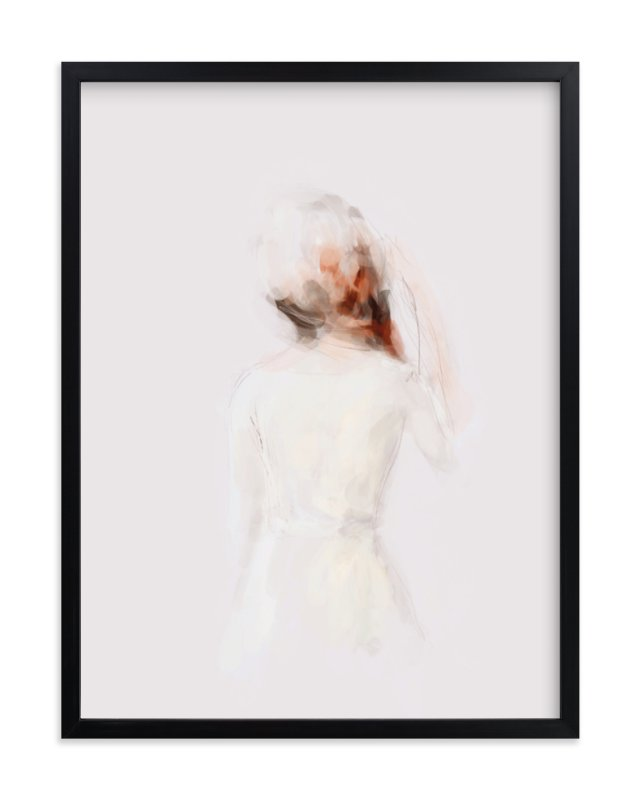 """The Figure"" - Limited Edition Art Print by Lori Wemple in beautiful frame options and a variety of sizes."
