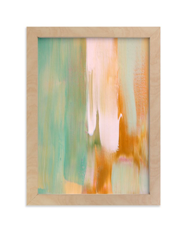 """Rusty Patina"" - Limited Edition Art Print by Artsy Canvas Girl Designs in beautiful frame options and a variety of sizes."