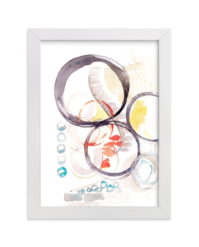 """""""Abstract No 1"""" - Limited Edition Art Print by Kelly Ventura in beautiful frame options and a variety of sizes."""