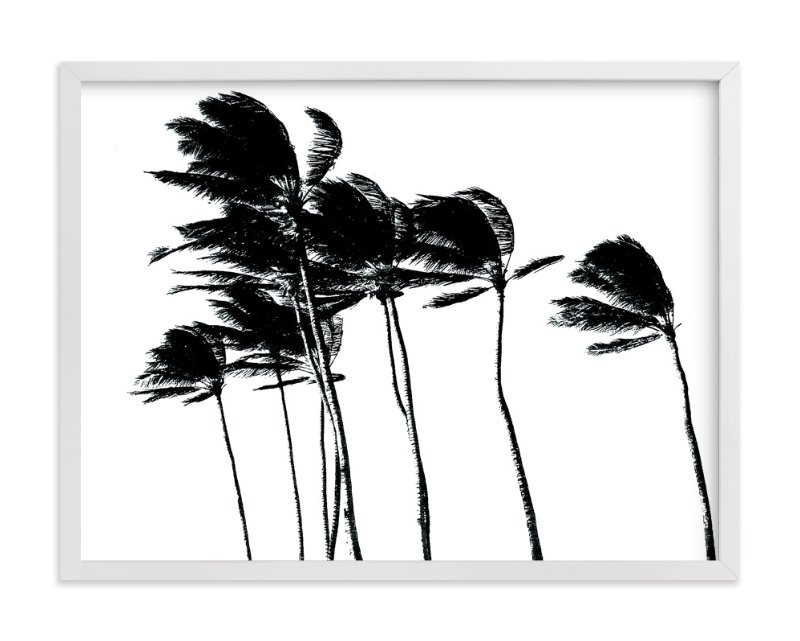 Palm trees in the wind limited edition art print by beachpaperco in beautiful