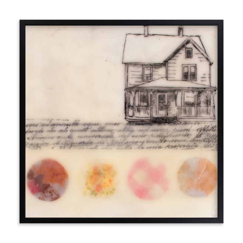 """A Study of Home II"" - Limited Edition Art Print by Two if by Sea Studios in beautiful frame options and a variety of sizes."
