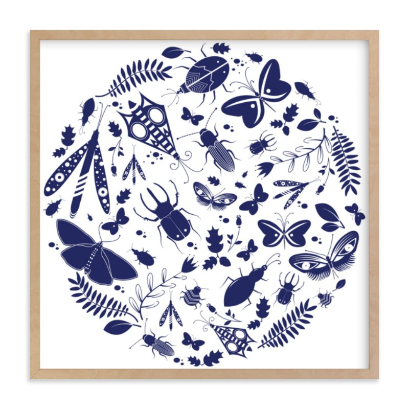 """""""Under The Microscope"""" - Limited Edition Art Print by Kayla King in beautiful frame options and a variety of sizes."""