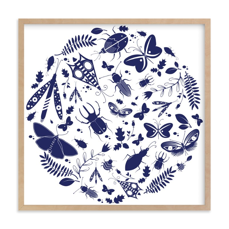 """Under The Microscope"" - Limited Edition Art Print by Kayla King in beautiful frame options and a variety of sizes."