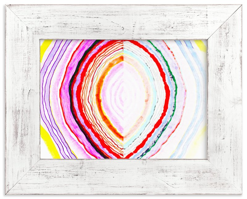"""""""Great with Agate No 1"""" - Limited Edition Art Print by Kristi Kohut - HAPI ART AND PATTERN in beautiful frame options and a variety of sizes."""