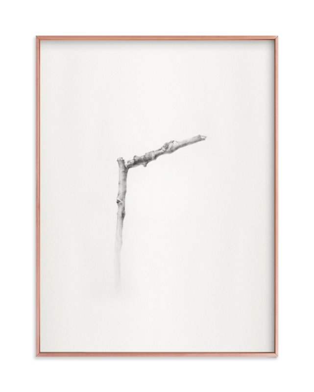 """""""Twig- Solitude 01"""" - Limited Edition Art Print by jinseikou in beautiful frame options and a variety of sizes."""