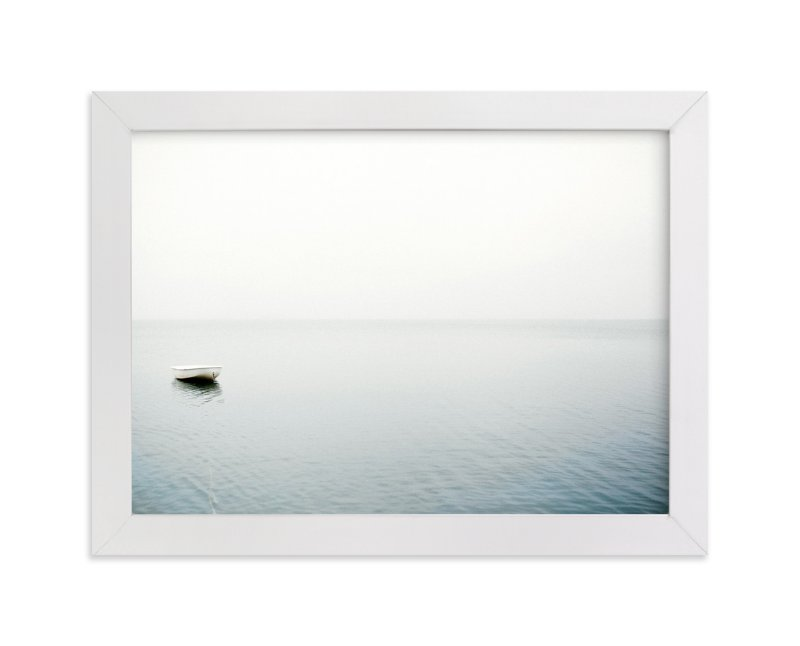 """""""To Be Alone"""" - Limited Edition Art Print by Haley George in beautiful frame options and a variety of sizes."""