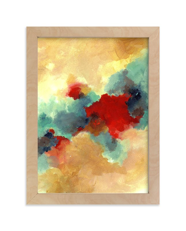 """""""The Four Seasons: Autumn"""" - Limited Edition Art Print by Sonal Nathwani in beautiful frame options and a variety of sizes."""