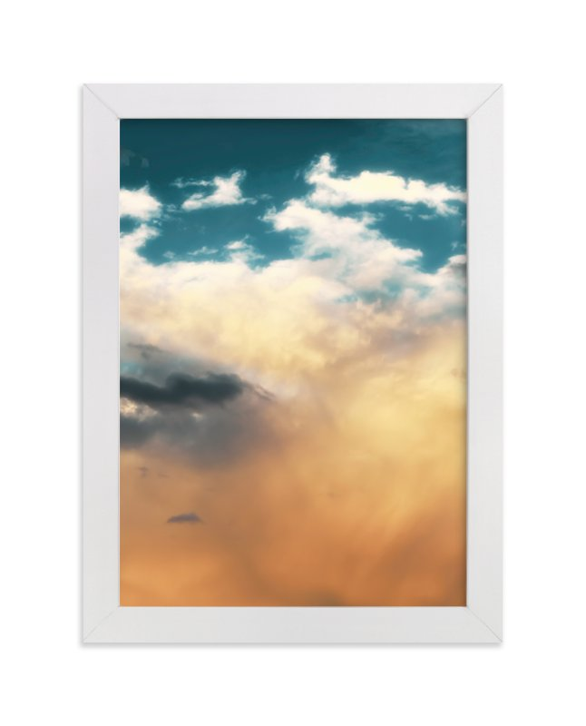 """""""Turquoise Heavens"""" - Limited Edition Art Print by Debra Butler in beautiful frame options and a variety of sizes."""