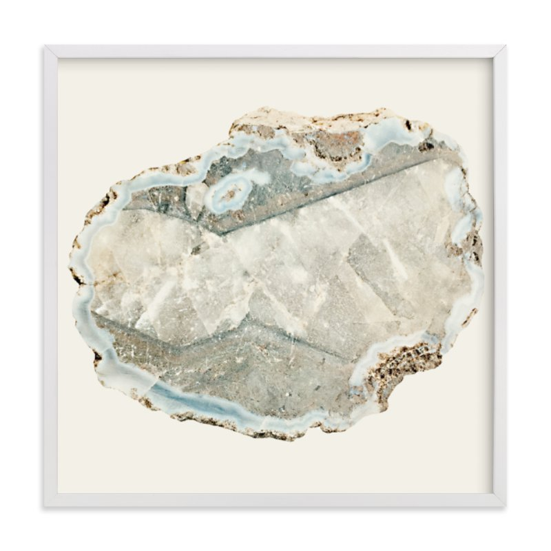"""""""Agate"""" - Limited Edition Art Print by Baumbirdy in beautiful frame options and a variety of sizes."""