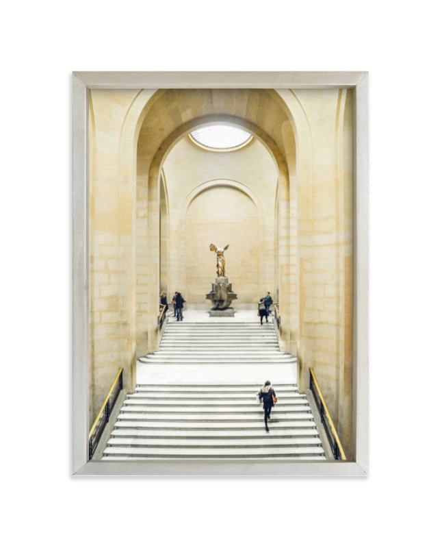 """Stairway to Samothrace"" - Limited Edition Art Print by Kate Baird in beautiful frame options and a variety of sizes."