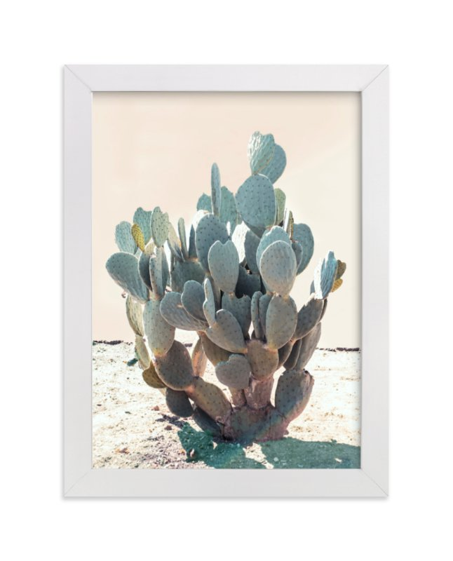 Blue Cactus Wall Art Prints by Wilder California | Minted