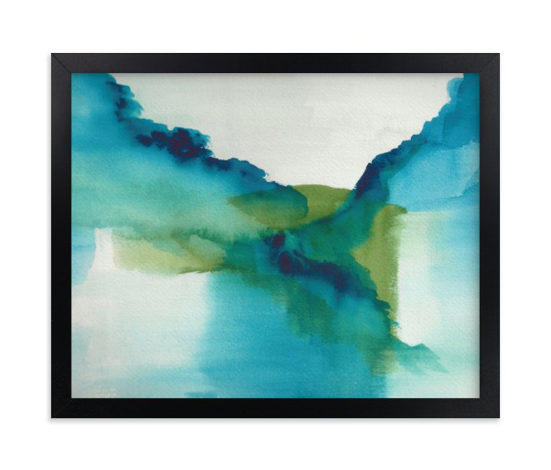 """Enchant"" - Limited Edition Art Print by Christine Llewellyn in beautiful frame options and a variety of sizes."