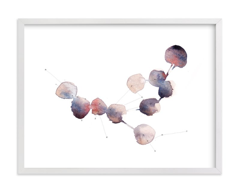 """""""Connection No. 1"""" - Limited Edition Art Print by Kelly Ventura in beautiful frame options and a variety of sizes."""