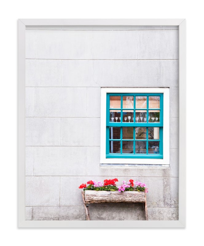 """A Little Window"" - Limited Edition Art Print by Alexandra Feo in beautiful frame options and a variety of sizes."