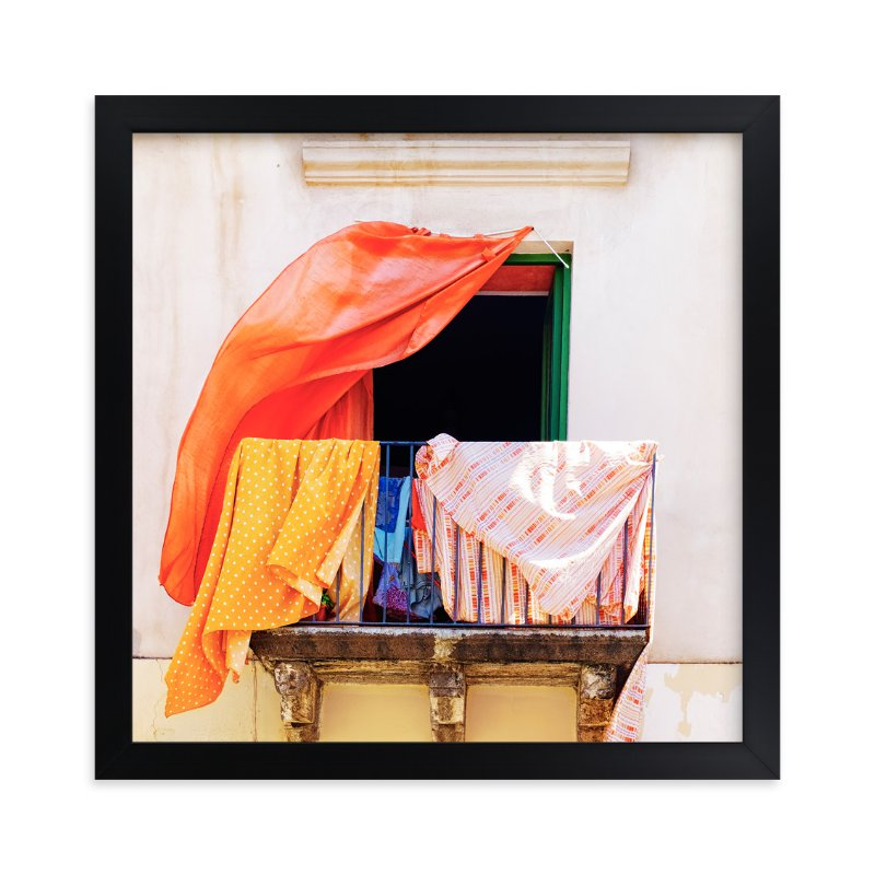 """""""A Summer in Lipari"""" - Limited Edition Art Print by Massimiliano Massimo Borelli in beautiful frame options and a variety of sizes."""