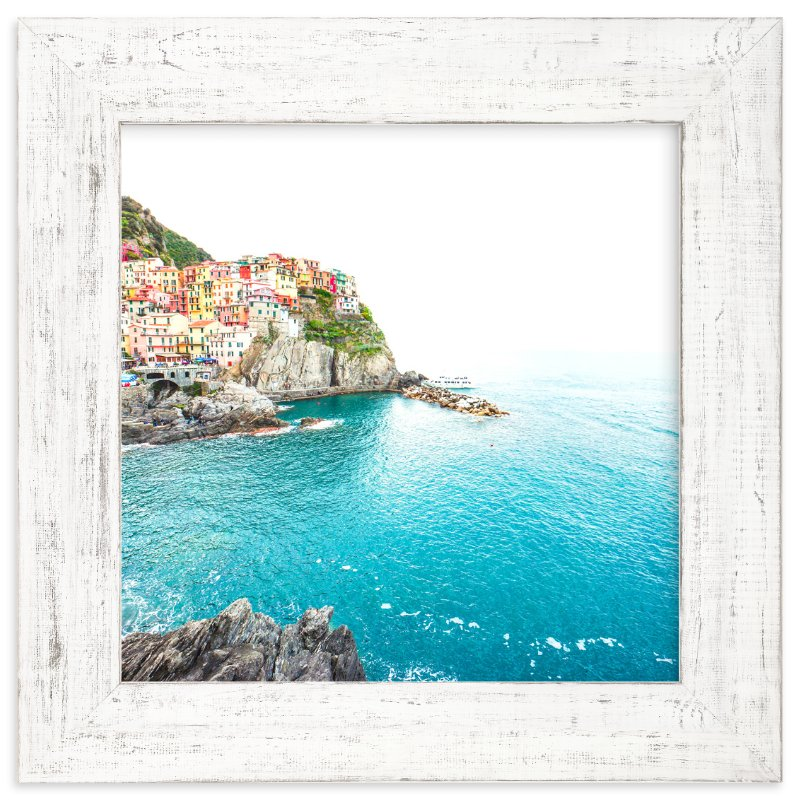 """""""Above the Sea"""" - Limited Edition Art Print by Molly Goodman in beautiful frame options and a variety of sizes."""