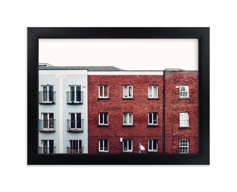"""""""Windows of Dublin"""" - Limited Edition Art Print by Monday Project in beautiful frame options and a variety of sizes."""