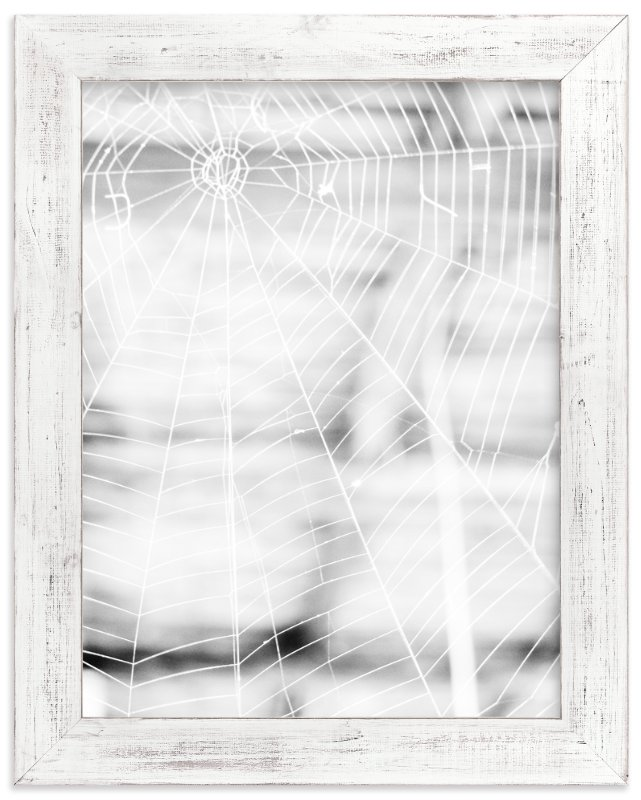 """Gossamer Grid"" - Limited Edition Art Print by Nadia Hassan in beautiful frame options and a variety of sizes."