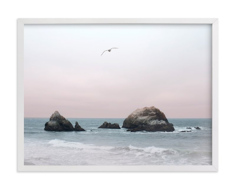 """""""California Seascape"""" - Limited Edition Art Print by Wilder California in beautiful frame options and a variety of sizes."""