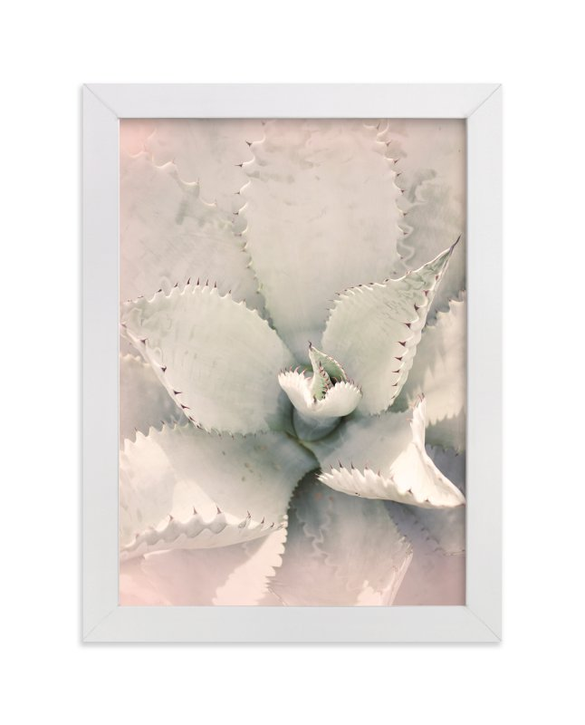 """""""Southwestern Succulent"""" - Limited Edition Art Print by Wilder California in beautiful frame options and a variety of sizes."""
