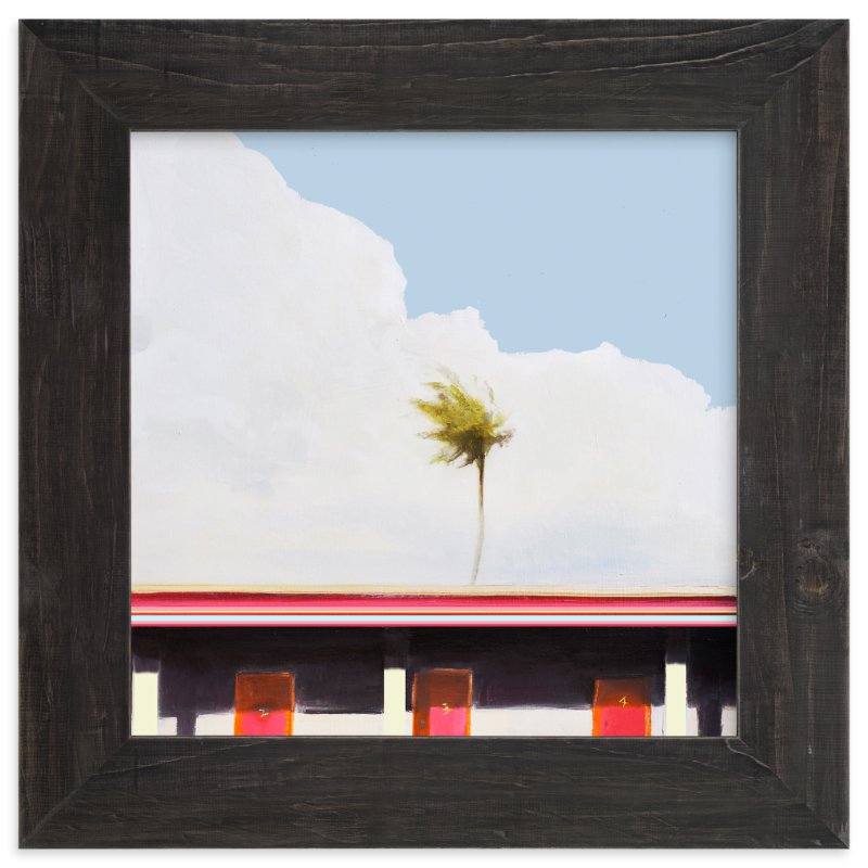 """MOTEL CALIFORNIA"" - Limited Edition Art Print by SETH SMITH in beautiful frame options and a variety of sizes."
