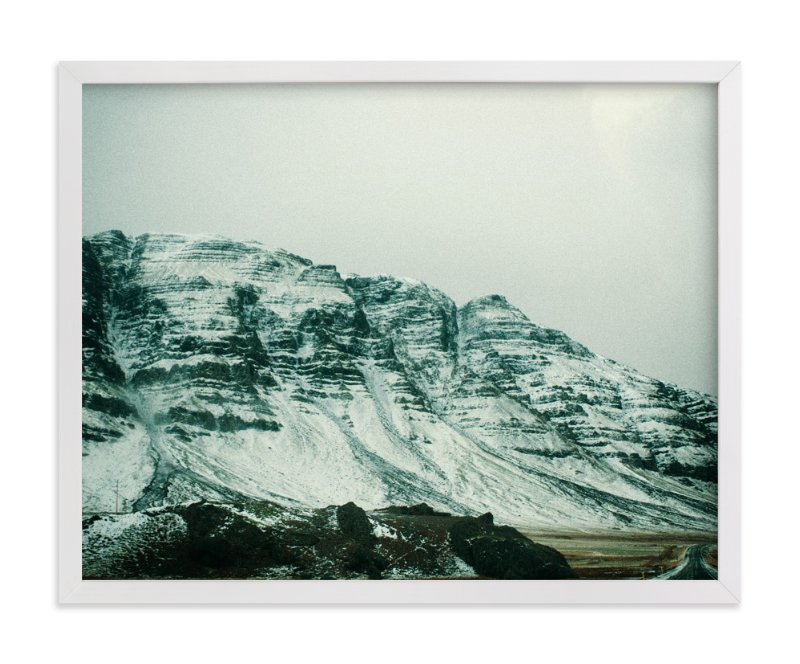 """""""A Snowy Pass"""" - Limited Edition Art Print by Casey Fyfe in beautiful frame options and a variety of sizes."""