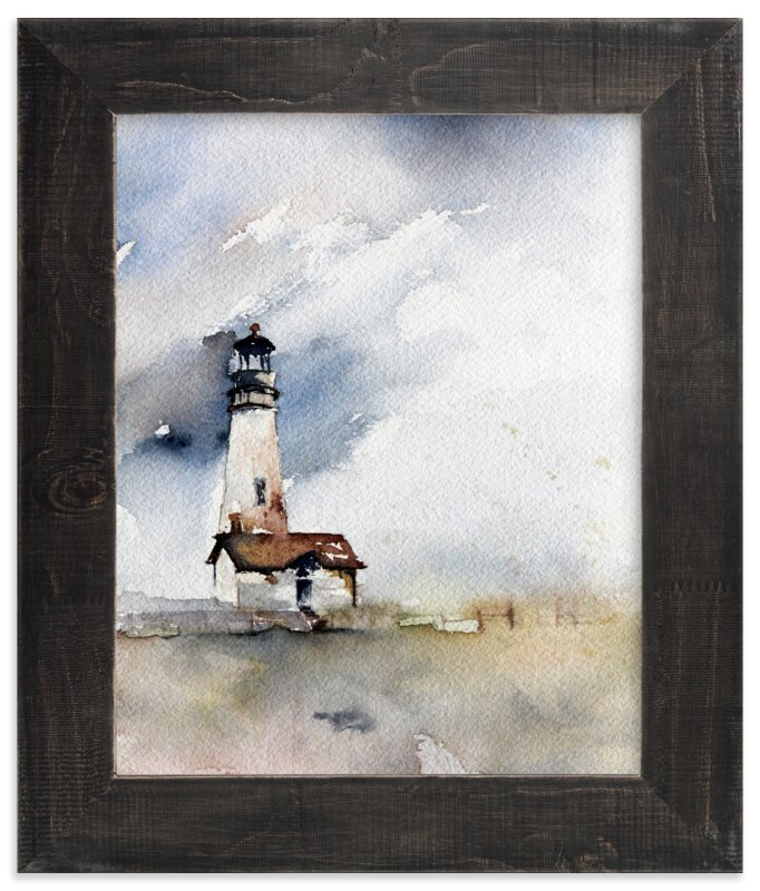 """Solitary Watch"" - Limited Edition Art Print by Karen Kaul in beautiful frame options and a variety of sizes."