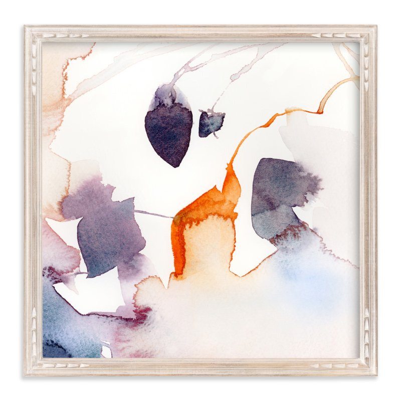 """""""Watercolor Abstract Flora Series : Fall 1"""" - Limited Edition Art Print by Marta Spendowska in beautiful frame options and a variety of sizes."""