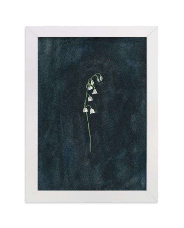 """Remember: Lily of the Valley"" - Art Print by Renee Anne in beautiful frame options and a variety of sizes."