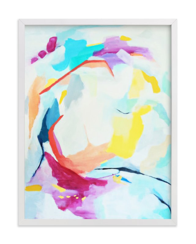 """""""Move Me"""" - Limited Edition Art Print by Mya Bessette in beautiful frame options and a variety of sizes."""