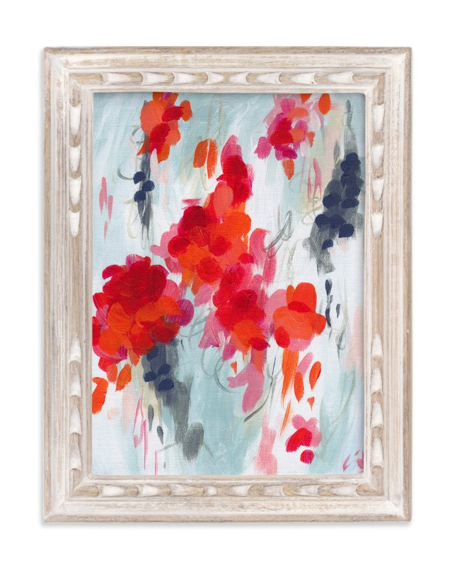 """Poppies I"" - Limited Edition Art Print by Holly Whitcomb in beautiful frame options and a variety of sizes."