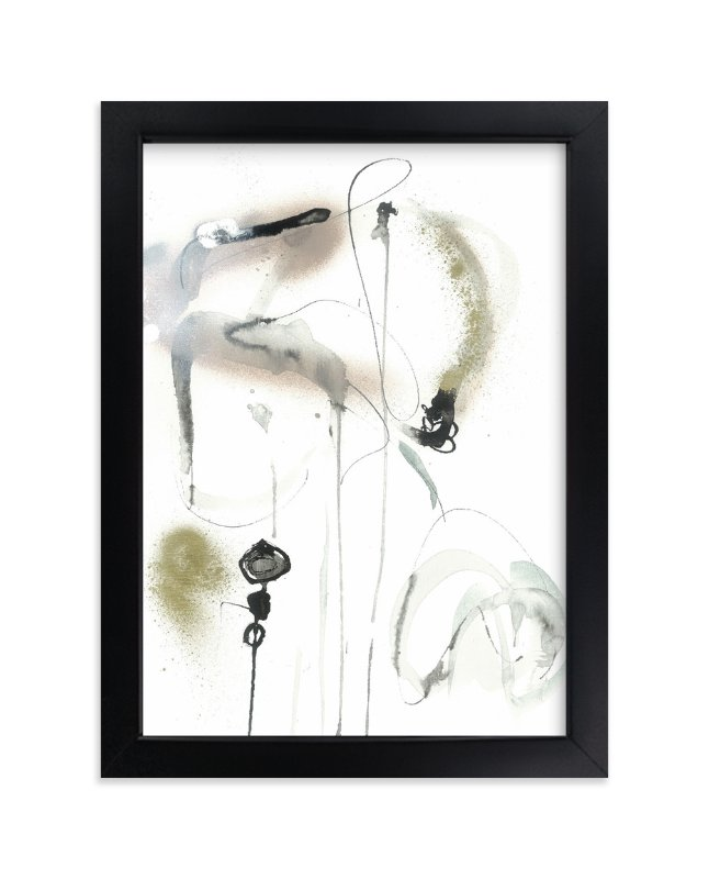 """quiet"" - Limited Edition Art Print by ADRIENNE JACKSON in beautiful frame options and a variety of sizes."