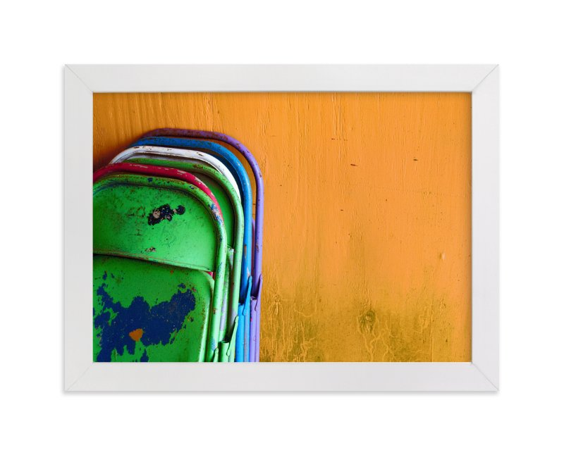 """Stacked"" - Limited Edition Art Print by Loren Willis in beautiful frame options and a variety of sizes."