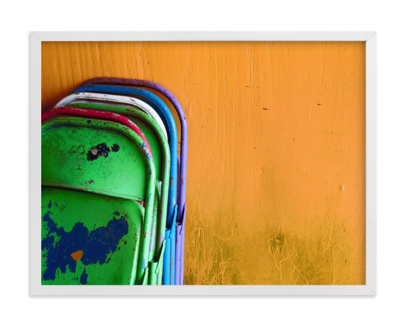 """""""Stacked"""" - Limited Edition Art Print by Loren Willis in beautiful frame options and a variety of sizes."""