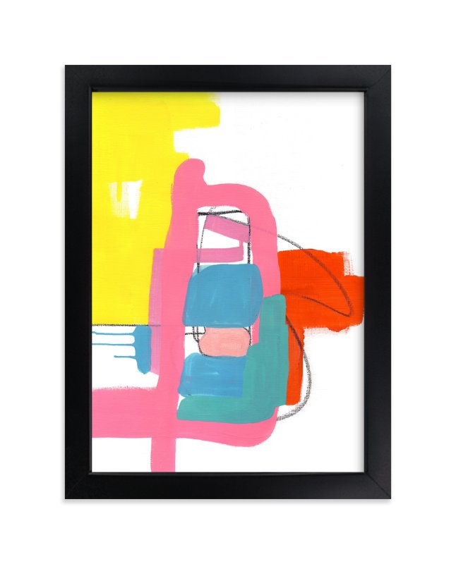 """""""Composition 2"""" - Limited Edition Art Print by Jaime Derringer in beautiful frame options and a variety of sizes."""