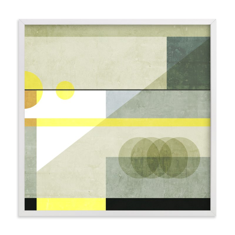 """""""Concrete blocks"""" - Limited Edition Art Print by Lucrecia in beautiful frame options and a variety of sizes."""