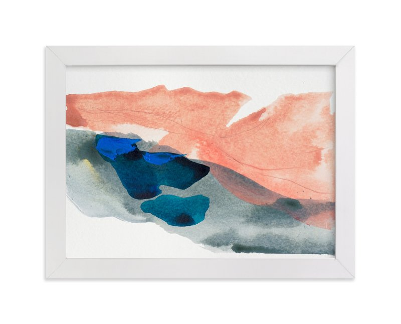 """""""Morning River"""" - Limited Edition Art Print by Lauren Adams in beautiful frame options and a variety of sizes."""