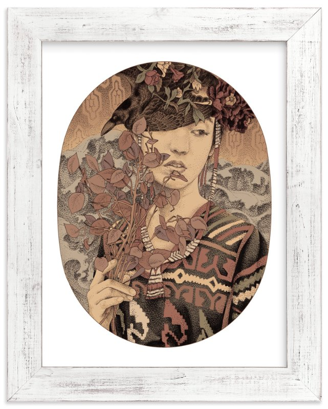 """Diwata 3"" - Limited Edition Art Print by Paper Planes in beautiful frame options and a variety of sizes."