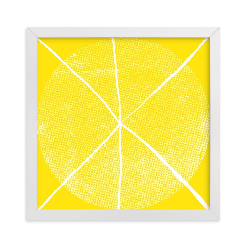 """Lemonade & Moonbeams"" - Limited Edition Art Print by Paper Dahlia in beautiful frame options and a variety of sizes."