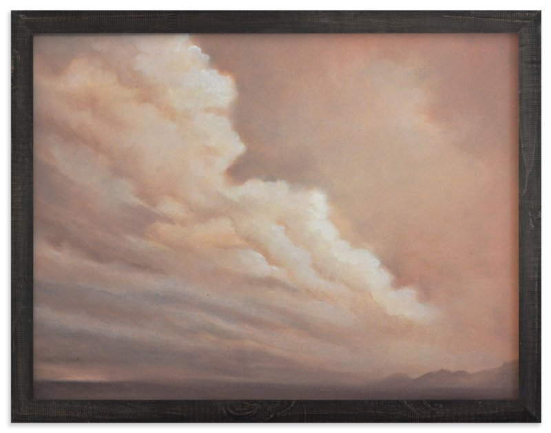"""""""Distant Rain"""" - Limited Edition Art Print by Kelly Money in beautiful frame options and a variety of sizes."""