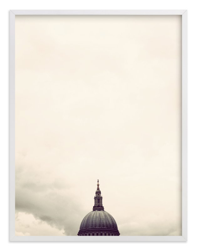 """""""St. Paul's Cathedral, London"""" - Art Print by 45wall design in beautiful frame options and a variety of sizes."""