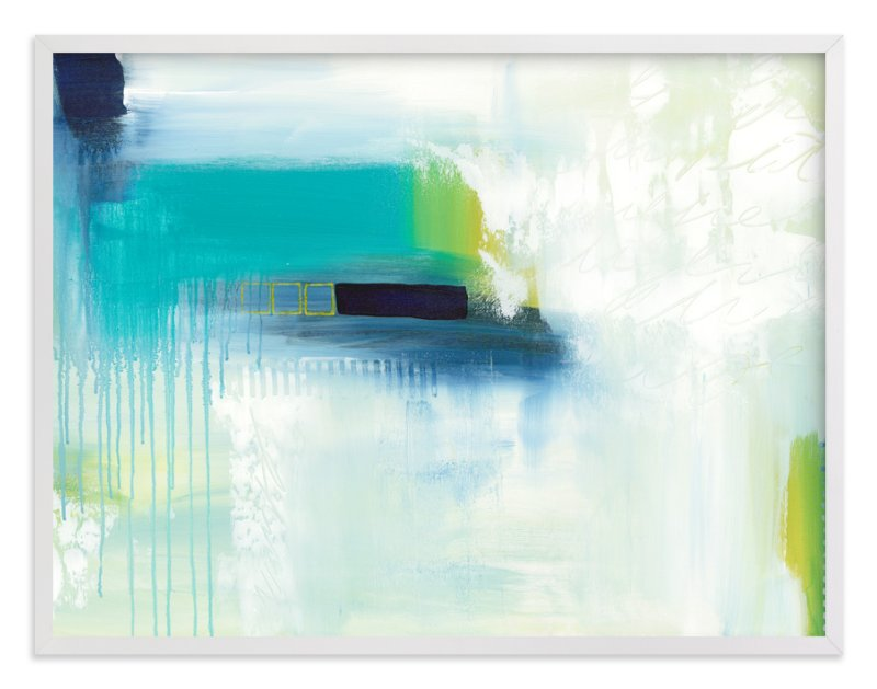 """""""Holiday From Real"""" - Limited Edition Art Print by Julie Hawkins in beautiful frame options and a variety of sizes."""
