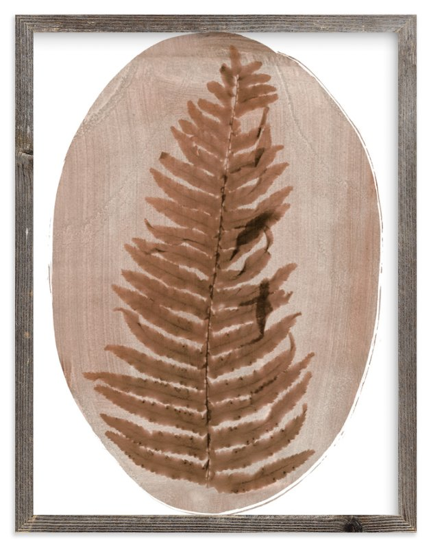"""""""Fern"""" - Limited Edition Art Print by Kelly Nasuta in beautiful frame options and a variety of sizes."""