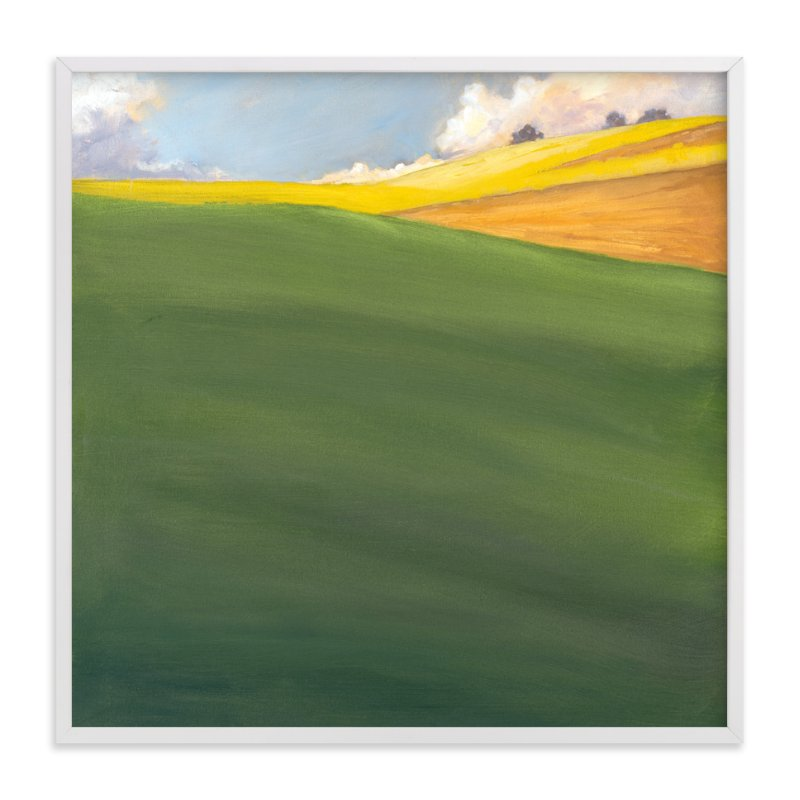 """""""September Hill"""" - Limited Edition Art Print by Stephanie Goos Johnson in beautiful frame options and a variety of sizes."""