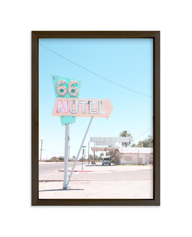 """""""66"""" - Limited Edition Art Print by Calais Le Coq in beautiful frame options and a variety of sizes."""