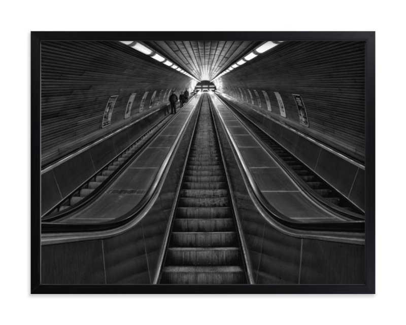 """""""The Descent"""" - Limited Edition Art Print by Mark Kirby in beautiful frame options and a variety of sizes."""