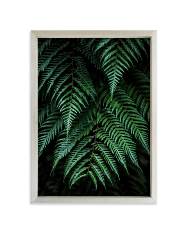 """Layers of green"" - Limited Edition Art Print by Bethania Lima in beautiful frame options and a variety of sizes."