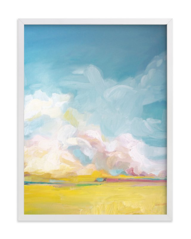 """Summer Winds"" - Limited Edition Art Print by Emily Jeffords in beautiful frame options and a variety of sizes."