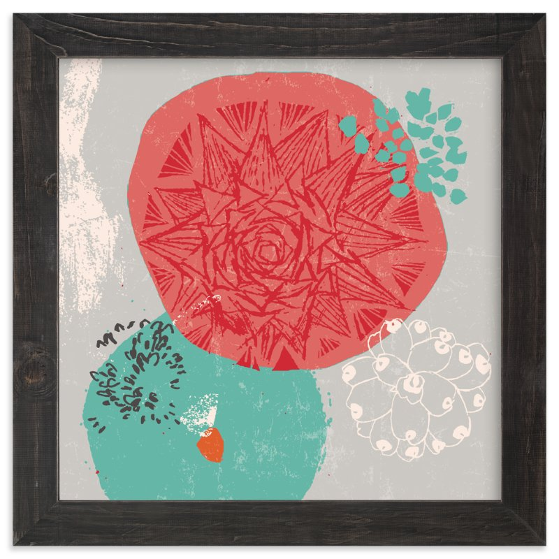 """""""Desert Frost"""" - Limited Edition Art Print by Victoria Johnson in beautiful frame options and a variety of sizes."""